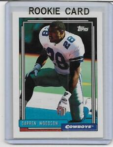 DARREN WOODSON 1992 TOPPS MINT RC ROOKIE CARD DALLAS COWBOYS