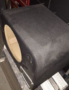 "12"" Bassworks Sub-Box Ported As Is"