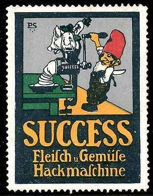 Germany Poster Stamp -Advertising Success Brand Meat & Vegetable Grinder