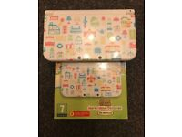 animal crossing limited edition 3ds xl with 30+ games