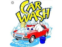 Hand car wash for sale! Busy hand car wash for sale with contracts.
