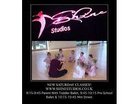NEW SATURDAY DANCE CLASSES WITH SHINE STUDIOS