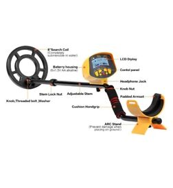 Fully automatic metal detector