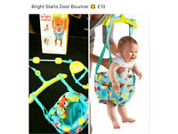 Bright starts Baby door bouncer