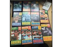 Boxers a Marshall Cavendish video collection 11 videos all together. Good condition