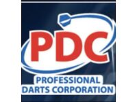 4 x Front Table Seats PDC Darts Aberdeen