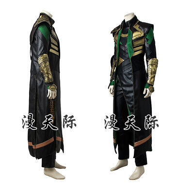 Thor II The Dark World Loki Cosplay Kostüm Costume Full Set  ()