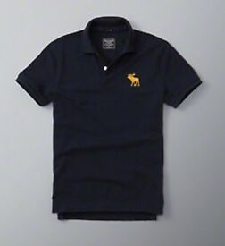 Brand New, with tags, Mens Abercrombie & Fitch Polo, 100% Genuine.