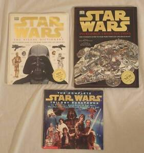 Star Wars books:  Visual dictionary, Cross sections Chermside West Brisbane North East Preview