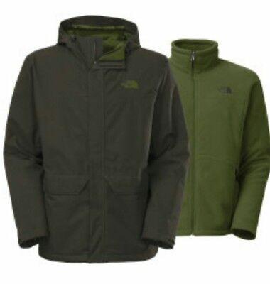 The North Face Chimborazo Hyvent Ski 2-In-1 Rain Coat Tri-Climate Fleece Jacket Triclimate Ski Jacket