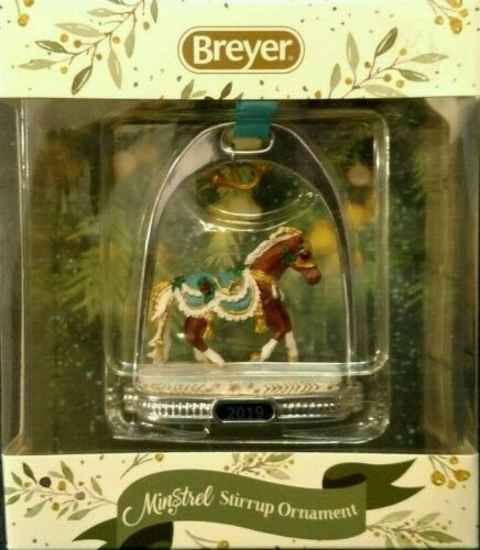 Breyer 2019 NEW Holiday Minstrel Stirrup Ornament - Limited Edition Collection