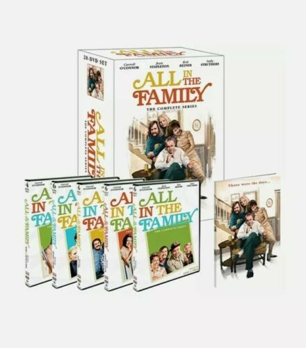 All In The Family The Complete Series DVD, 2012, 28-Disc Set  - $38.00