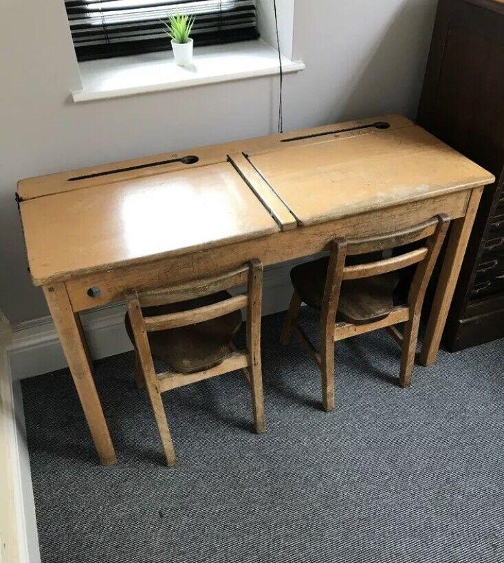 Old School Desks Desk Chairs Children S Child S Vintage In Olney