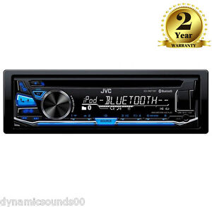 JVC KD-R871BT CD MP3 Bluetooth Car Stereo iPod iPhone Android Control USB AUX