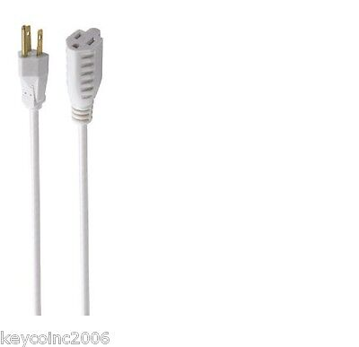 25 foot white grounded LANDSCAPE EXTENSION CORD Great for Bug Zappers