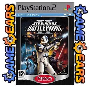 Star Wars Battlefront 2 PS2 Star Wars Battlefront II