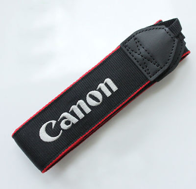 "Genuine Canon DSLR Camera Shoulder Neck Strap T3 T5 T6 T7  T3i T6i 1.25"" Wide"