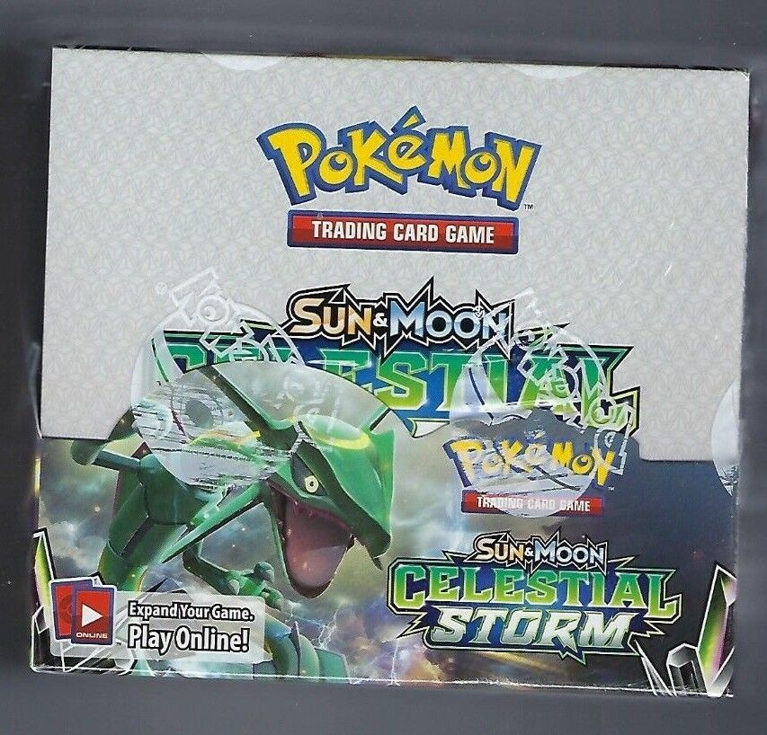 Pokemon Sun & Moon Celestial Storm Booster Box English