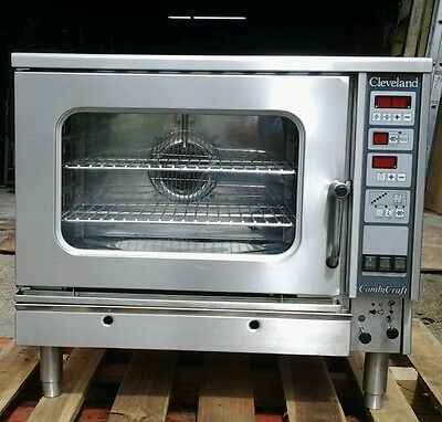 Cleveland Combi Oven Electric Convection And Steamer Combicraft Cce-5