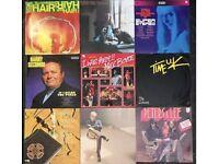 9 x vintage vinyl LP's by mixed artists