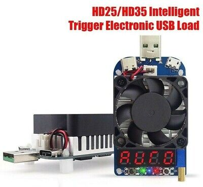 Rui Deng Hd25 25w Electronic Usb Load Constant Current Battery Capacity Tester