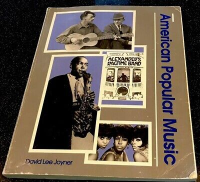 American Popular Music 1993 by David Lee Joyner paperback