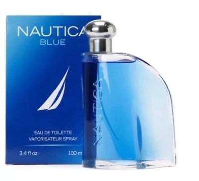 Nautica Blue Cologne by Nautica 3.4 oz/100 ml EDT Spray for Men NEW SEALED