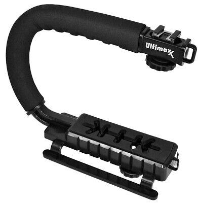 Professional Video Stabilizing Handle C/U Shape Pro Handle Grip Handheld Mount