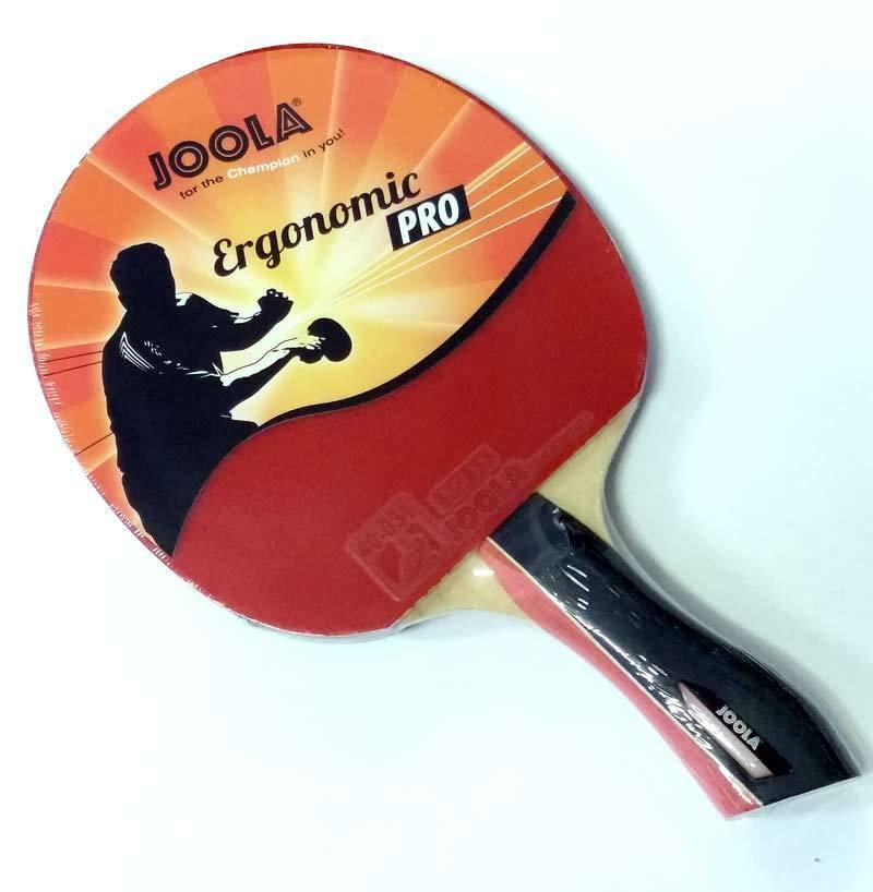 Profi Tischtennisschläger JOOLA ERGONOMIC PRO - neuartiger Griff - TOP