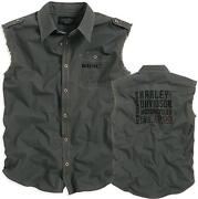 Mens Harley Davidson Sleeveless Shirts