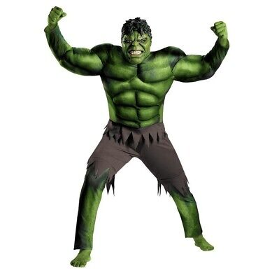 The Hulk Mask (The Avengers Hulk Muscle Mask And Jumpsuit Costume Boys Cosplay Kids)