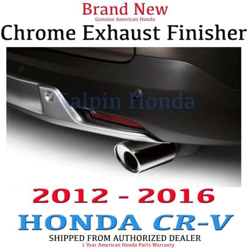 Genuine OEM Honda CR-V Chrome Exhaust Finisher 2012