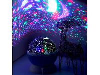 Baby Cot Nursery Star Sun Moon Night Light Projector Dreamshow Lamp Show Light