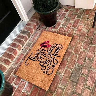 New Natural Coir Non Slip No Place Like Home Floor Entrance Door Mat  Home Coir Door Mat
