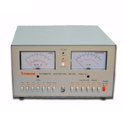 Tdm-1911 Automatic Audio Signal Distortion Meter Tester 0.01-30 220v110v