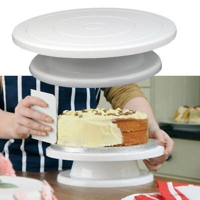 DIY Rotating Cake Plate Turntable Cake Decorating Stand 11 inch