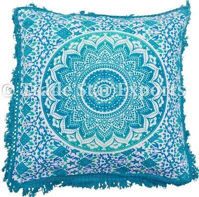 Подушка Indian Ombre Fringe Pillow Case
