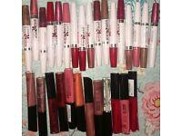 Makeup joblot lipgloss lipsticks all new
