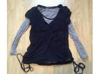 Size 12 maternity tops 2 in 1