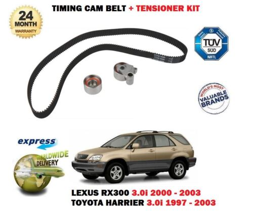 FOR LEXUS RX300 + TOYOTA HARRIER 3.0i 1997-2003 TIMING CAM BELT TENSIONER KIT