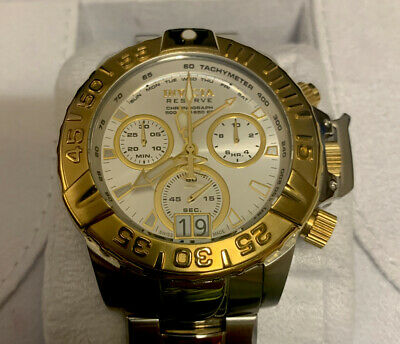 Invicta 10648 Subaqua Noma II Chronograph Gold Accented  Mens Watch