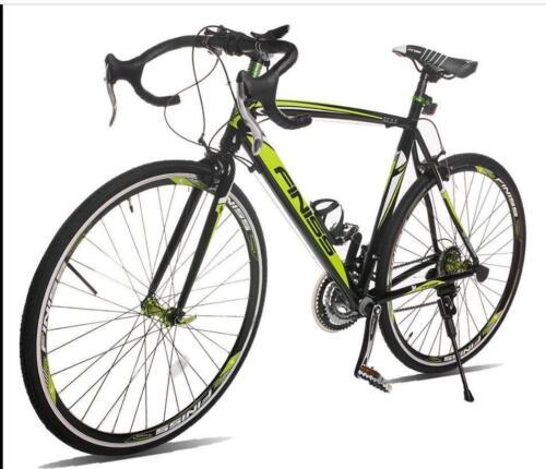 Racing Bicycle 21Speed Shimano Hybrid 700C Lightweight Alumi