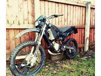 08 pitbike SX 50 cc learner non-runner cross/scrambler off road legal trails pit bike - 125 kx yz rm