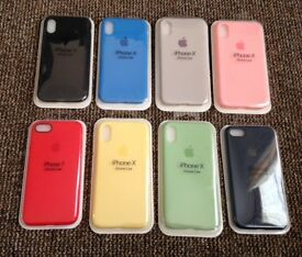 Apple iPhone silicon cases - for Iphone 6/ 6s/ 6plus / iphone 7/8 / iphone 7plus/8plus / iphone X
