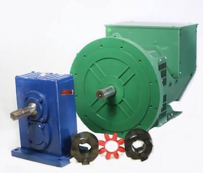 Generator Alternator Head Ltp 8.8kw 1phase 2bearing 120240 Volts Industrial