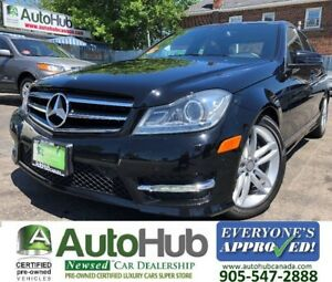 2014 Mercedes-Benz C-Class C300-4 MATIC-LEATHER-SUNROOF-PARKING