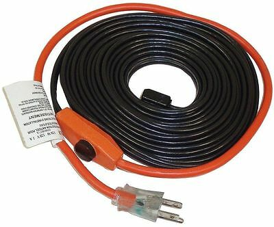 Automatic Pipe - Automatic Water Pipe Heat Heater 30FT Cable Kit Freeze Electric