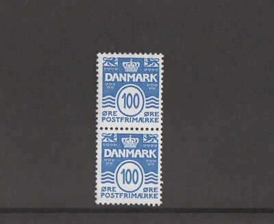Denmark Wavy lines With Hearts Centenary 100 øre