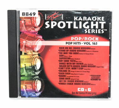 Pop/Rock Hits Spotlight Karaoke CD+G - Volume 163