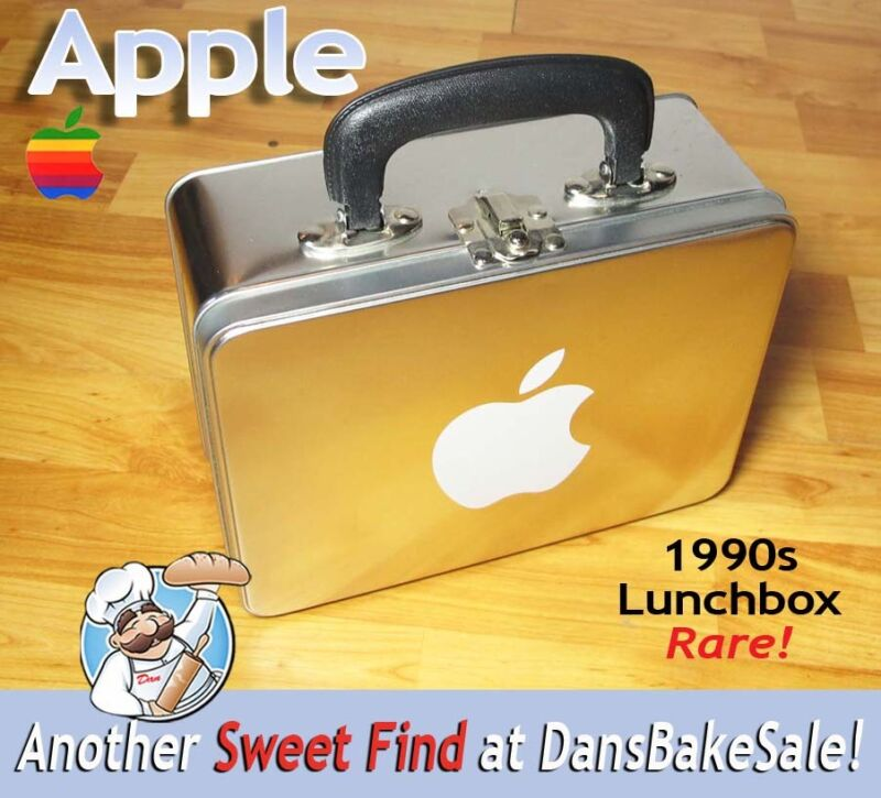Apple Computer Lunchbox From Apple Company Store 1990